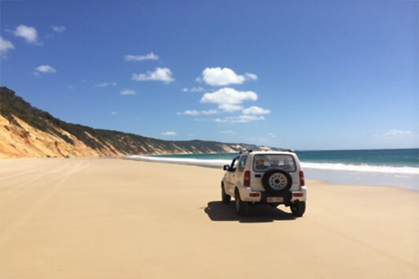 4WD beach