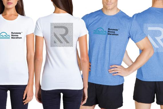 Official Runaway Noosa Marathon merch